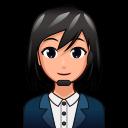 Female Office Worker P Emojidex Custom Emoji Service And Apps
