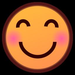 blush emoji
