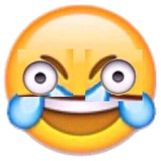 Open Eye Laugh Crying Emoji | emojidex - custom emoji service and apps