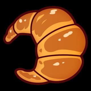 emoji betekenis croissant / foto: emojidex.com