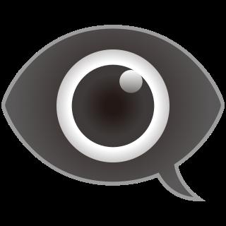 eye in speech bubble | emojidex - custom emoji service and apps