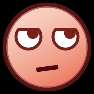 Face With Rolling Eyes P Emojidex Custom Emoji