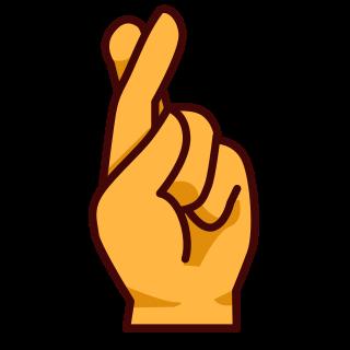 hand with first and index finger crossed emojidex custom emoji rh emojidex com fingers and toes crossed clipart fingers crossed clip art free