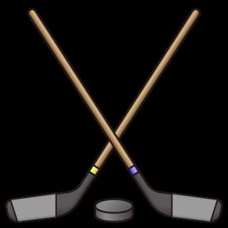 ice hockey stick and puck | emojidex - custom emoji ...