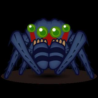 jumping spider | emojidex - custom emoji service and apps