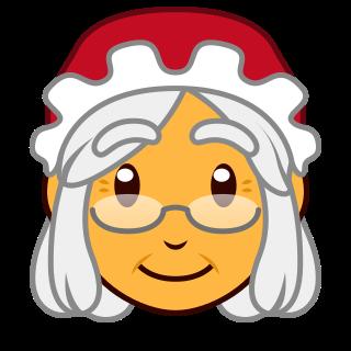 Mother Christmas Cartoon.Mother Christmas Emojidex Custom Emoji Service And Apps