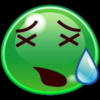 tired face(slime) | emojidex - custom emoji service and apps