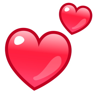 Transparent Red Heart Emoji Sevstar